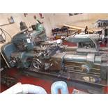 Holbrook model R No. 9 relieving lathe, quantity of change gears