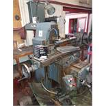 Ajax horizontal milling machine. Serial No. 203 388 16434 with associated tooling and 2 - dividing