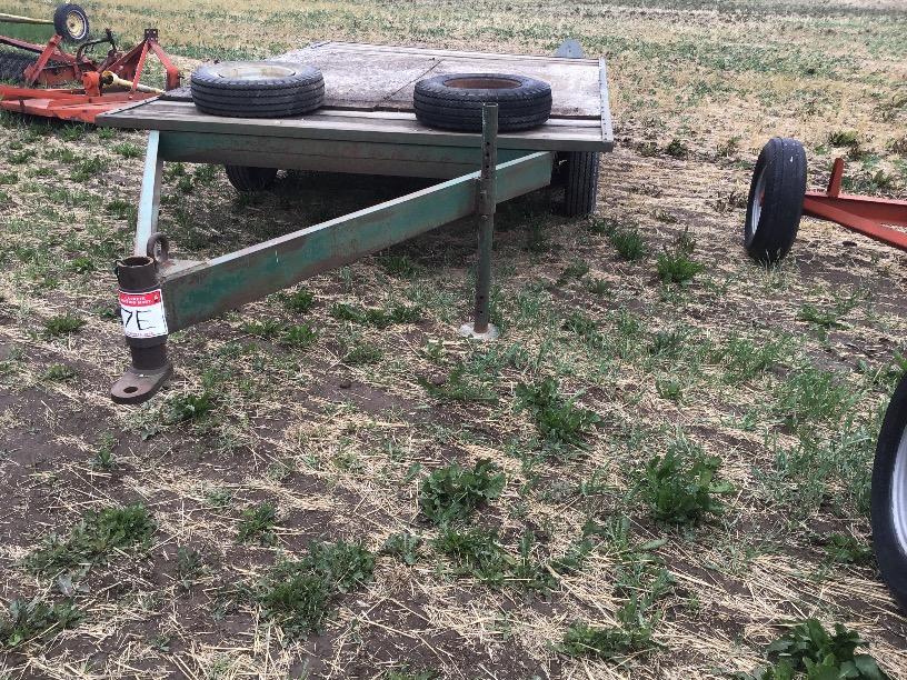 Lot 7E - 8ft x 13ft T/A Deck Over Farm Trailer