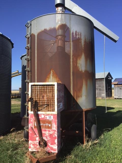 Lot 11 - GT 370 Propane Grain Dryer