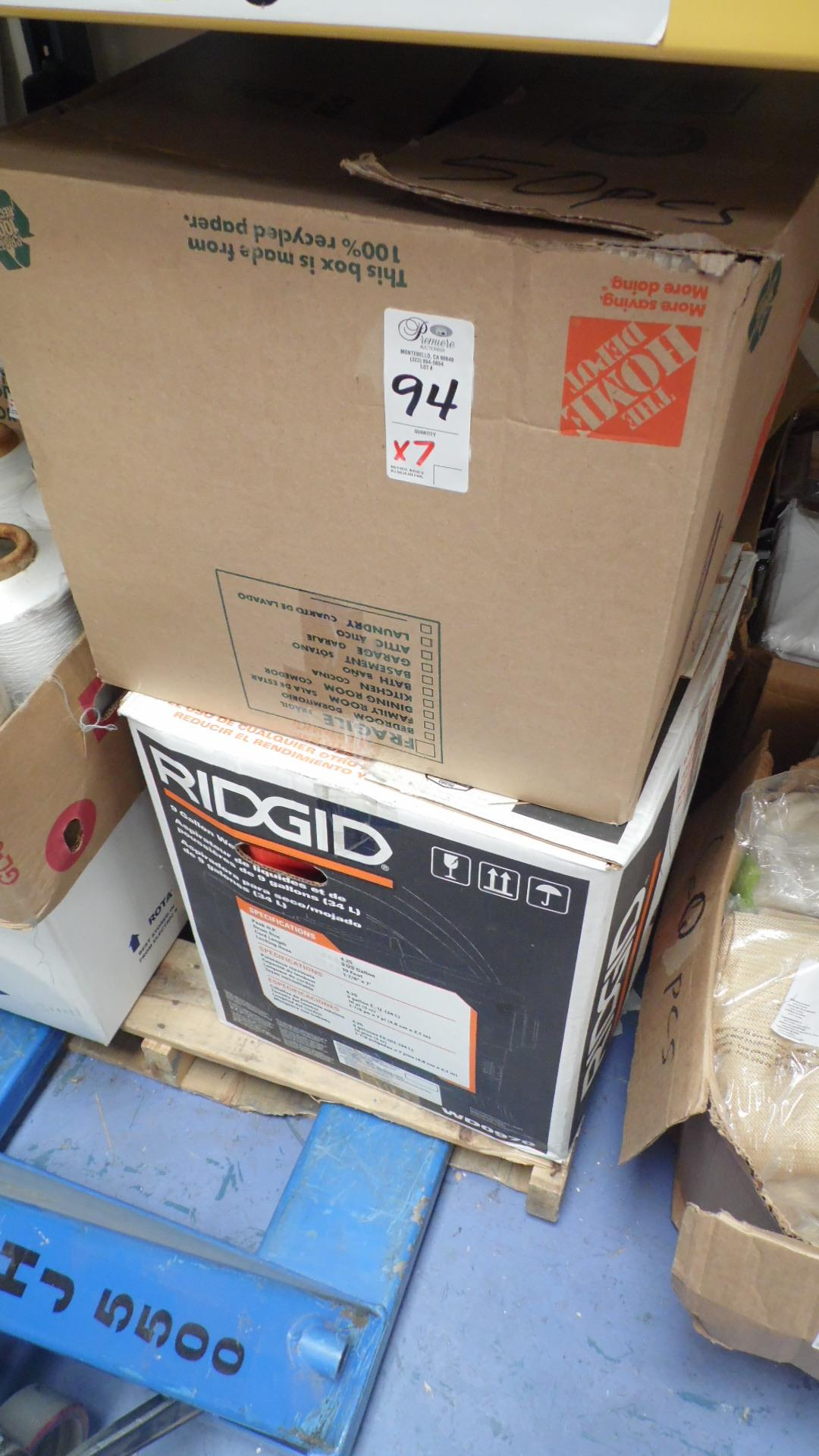 BOXES OF SEWING SPOOLS OF THREAD