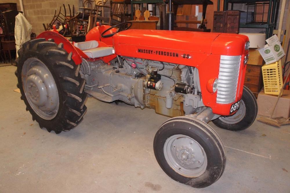 1963 Massey Ferguson 65 tractor, Isle of Man registration No
