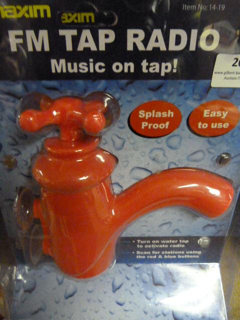 Lot 20 - Three Red FM Tap Radios