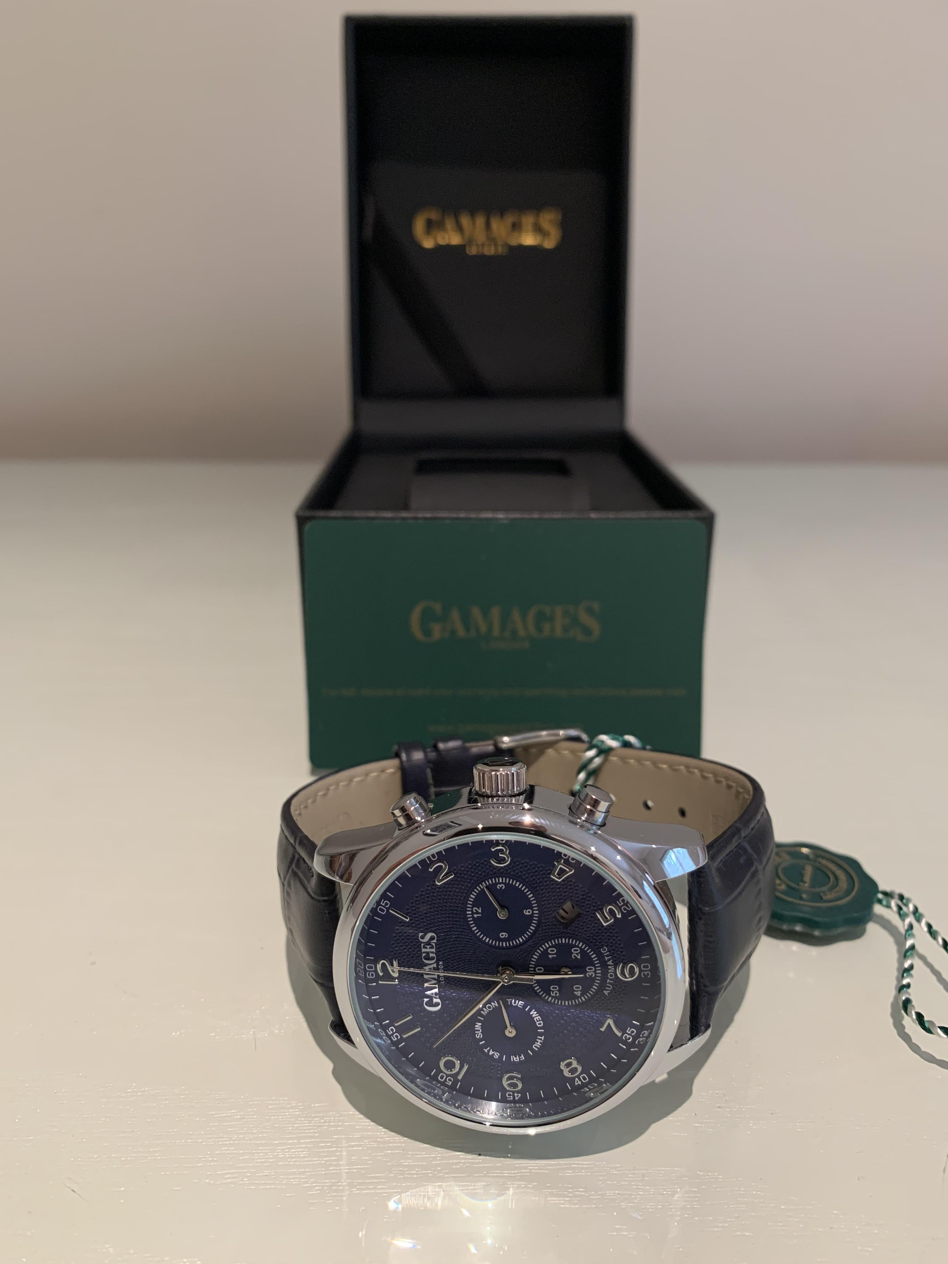 Limited Edition Hand Assembled Gamages Enigmatic Automatic Steel – 5 Year Warranty & Free Delivery - Image 2 of 5