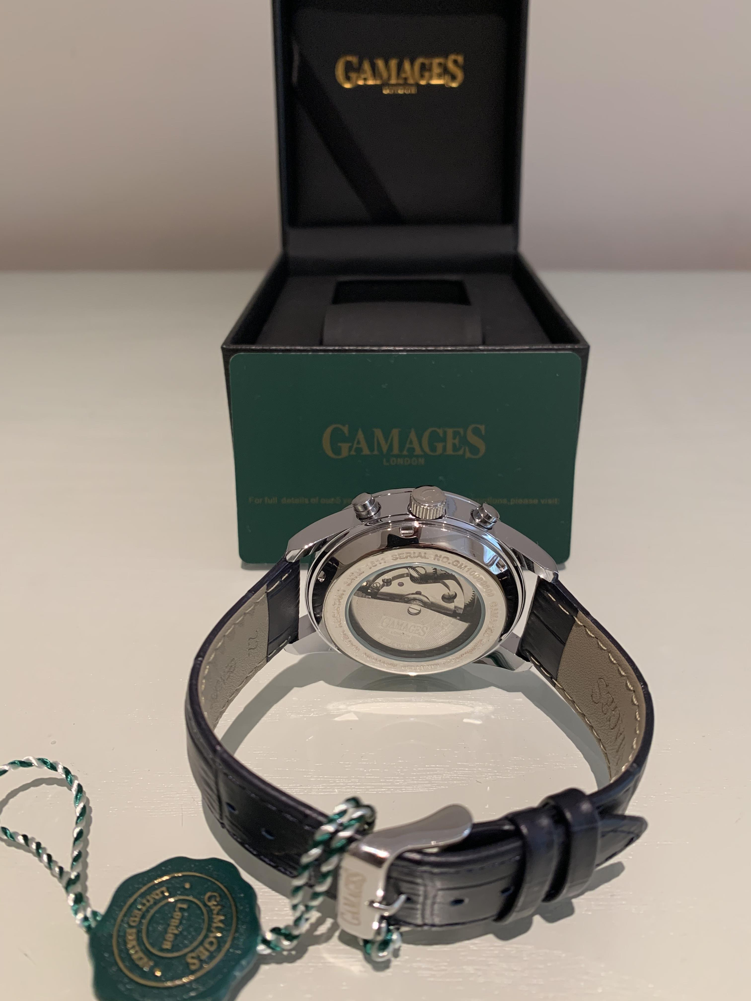 Limited Edition Hand Assembled Gamages Enigmatic Automatic Steel – 5 Year Warranty & Free Delivery - Image 3 of 5