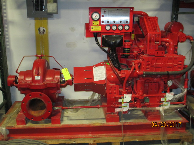 Lot 3 - Clark Fire Pump