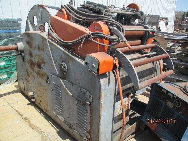 Lot 37 - Littell 10,000 LB Model C-100 Coil Reel & Straightner
