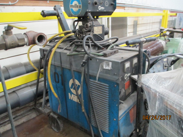 Lot 28 - Miller Model CP 300 Arc Welder.