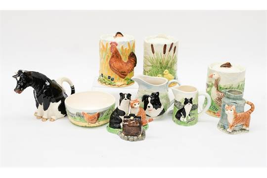A Collection Of Border Fine Arts James Herriot S Country Kitchen Comprising Friesian