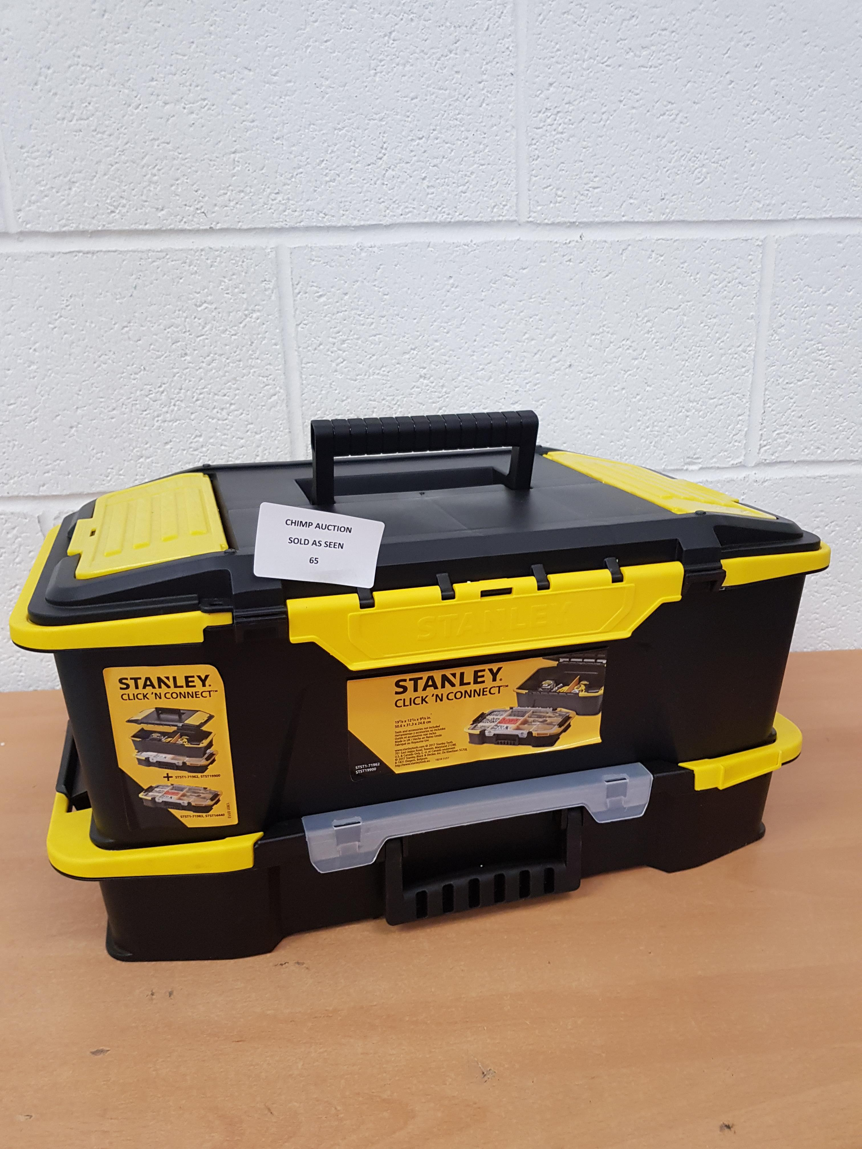 Lot 65 - Stanley Click ' N Connect Tool Organizer