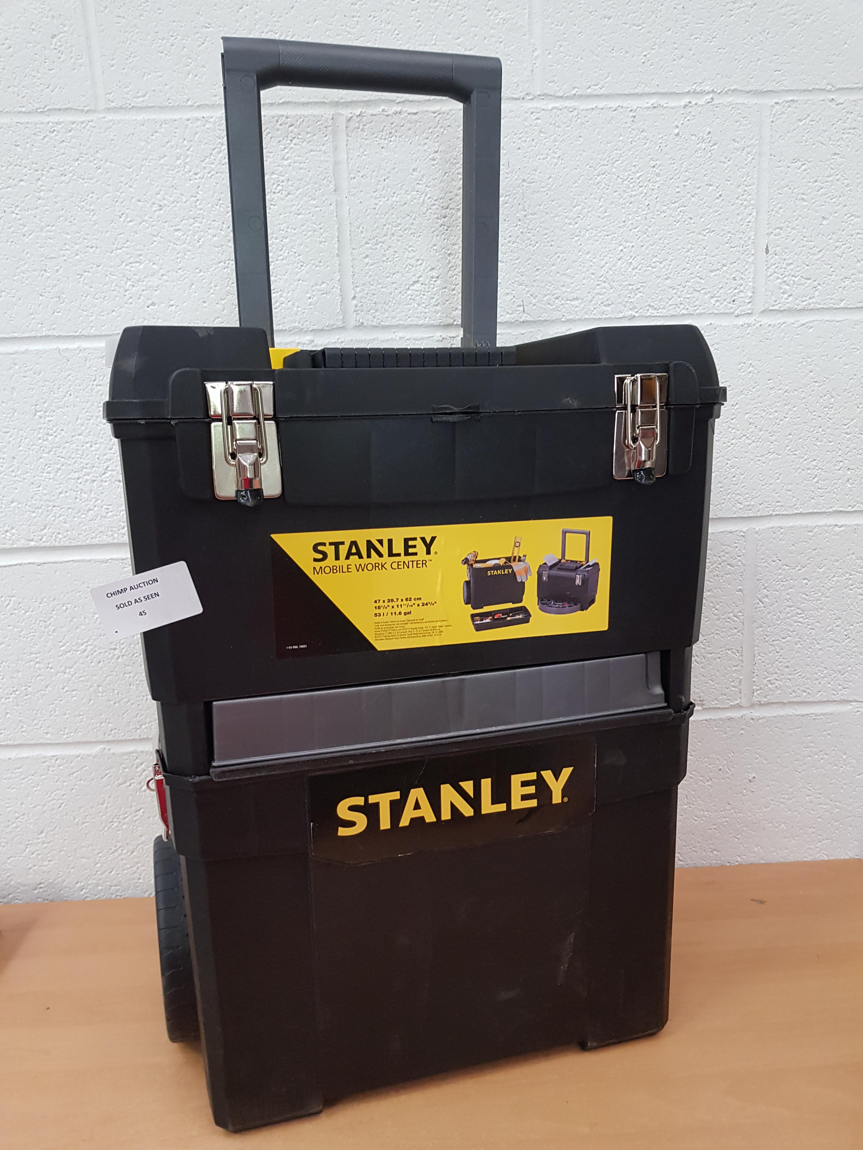 Lot 45 - Stanley Mobile Work Centre RRP £129.99.