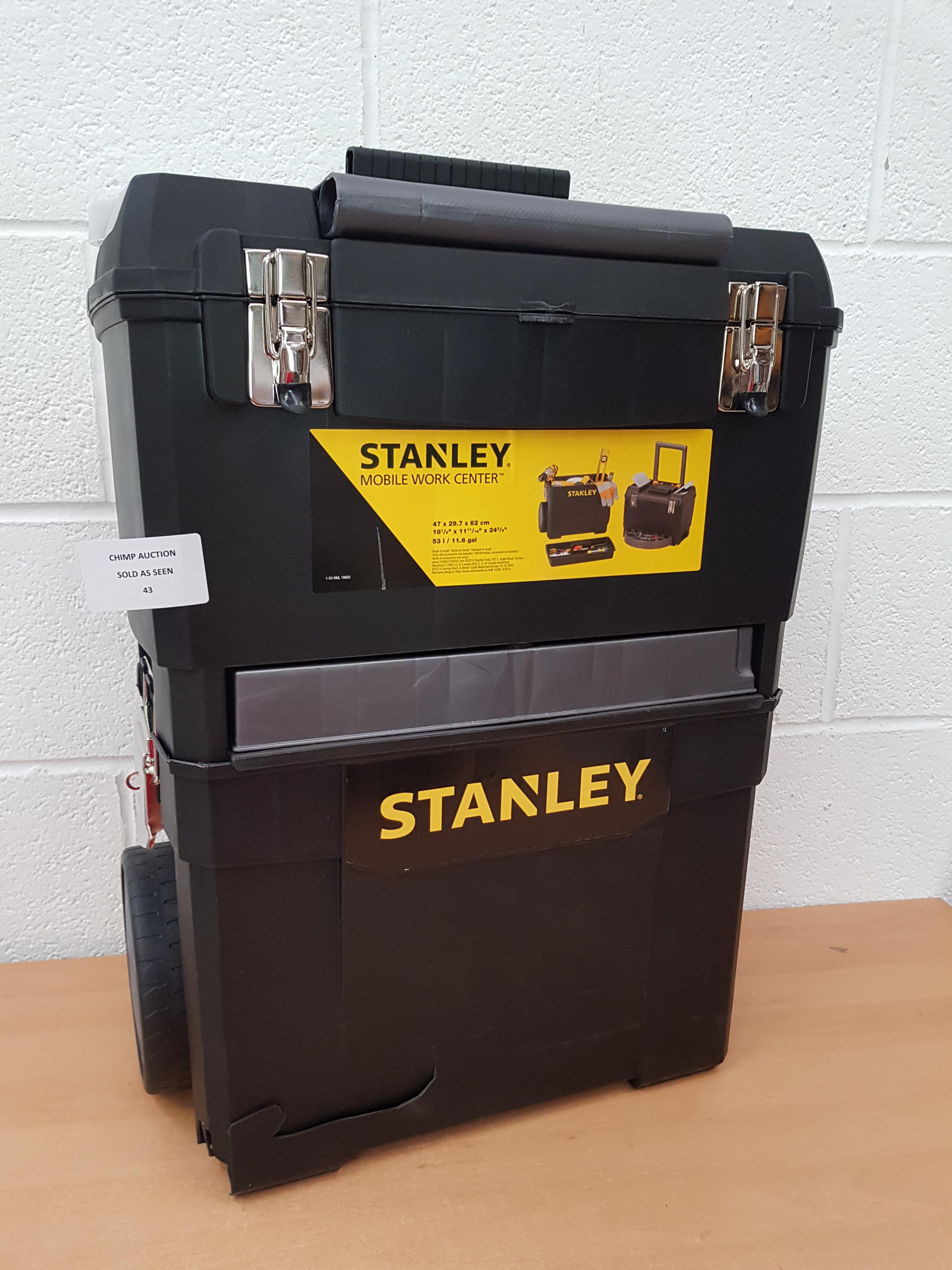 Lot 43 - Stanley Mobile Work Centre RRP £129.99.