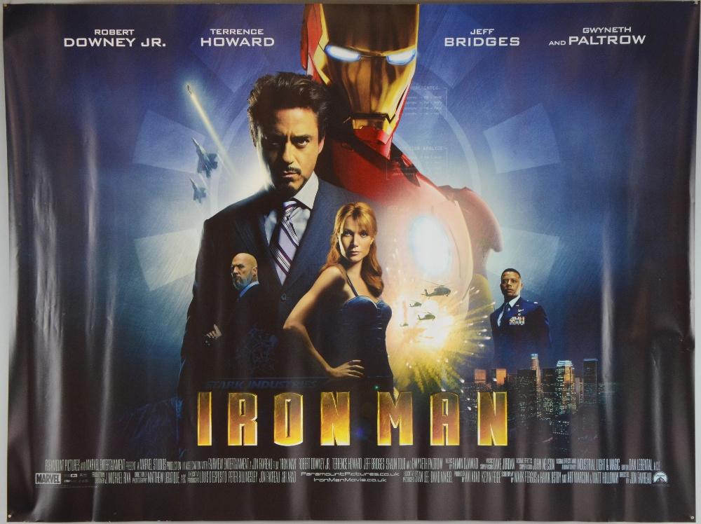 Iron man 2008 movie poster