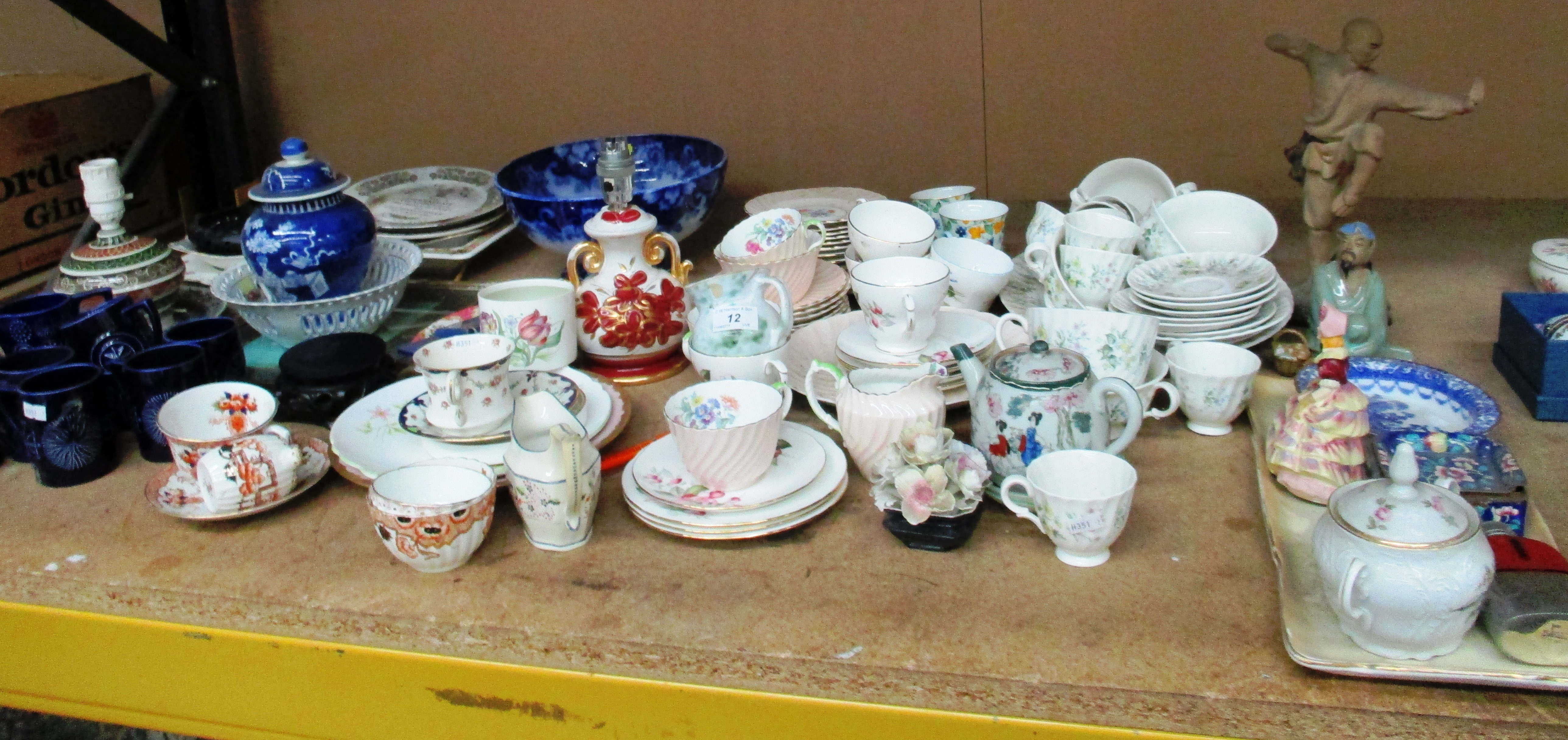 Lot 12 - Minton and other part dinner and tea services,