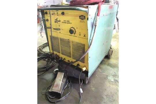linde mod ucc 305 ac dc 300 amp tig stick welder w 105 stick rh bidspotter com Linde Welding Machine Parts Linde Welders Ownersmanuals