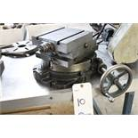 "Moore Tools 10"" rotary table w/ slide table"