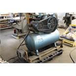 Powerex 3Z891X 5hp horizontal air compressor