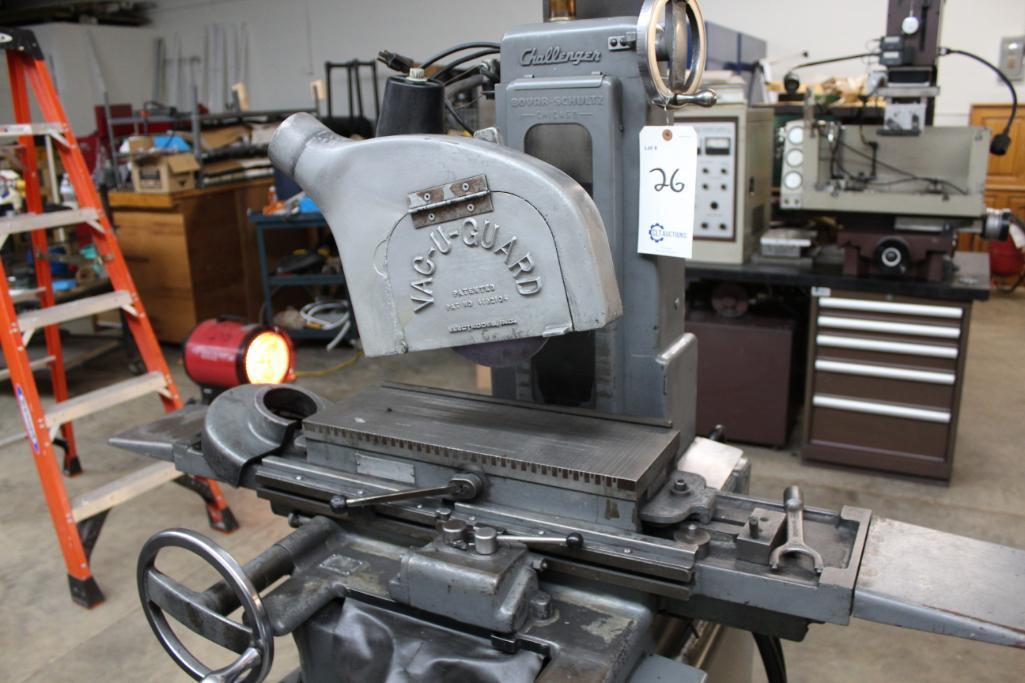Lot 26 - Boyar Schultz Challenger 6-18 hydraulic surface grinder