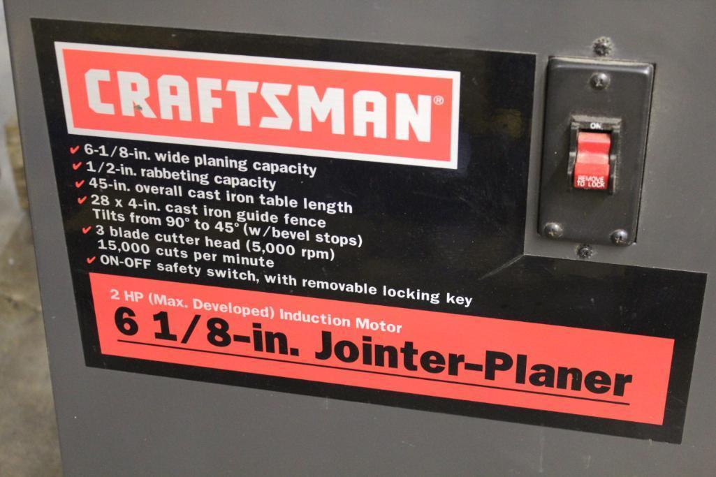 "Lot 39 - Craftsman 6-1/8"" jointer"