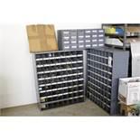 Hardware bin cabinets w/ hardware