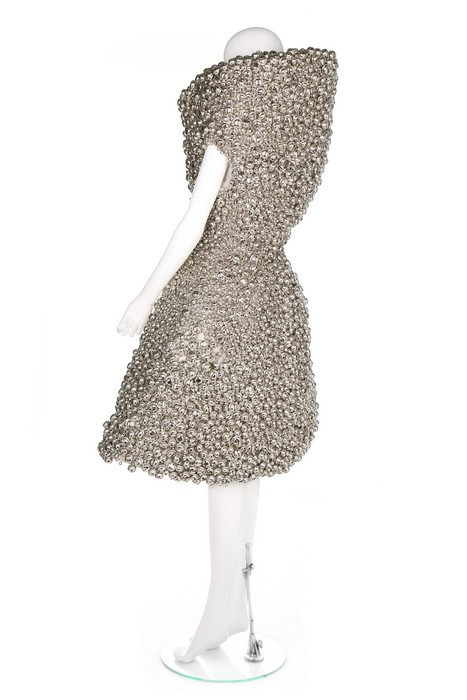 Lot 354 - Björk's Alexander McQueen 'Bell' dress, 2004, worn for the 'Who Is It (Carry My Joy on the Left,