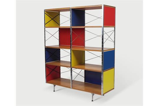 Charles Eames Cabinet ESU 400 Cabinet Designed By Charles Eames And  Manufactured By Herman Mille