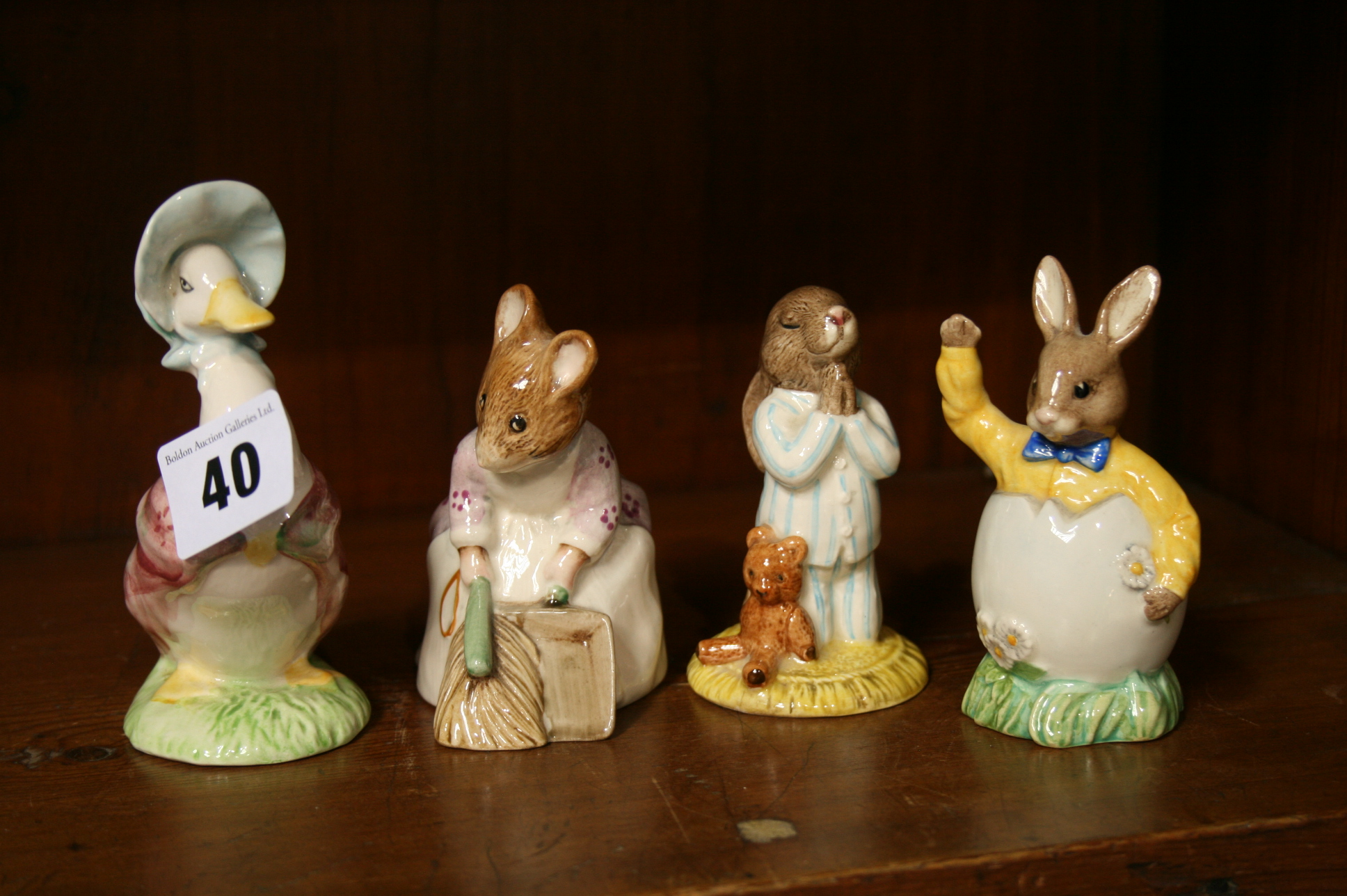 Lot 40 - Collection of Bunnykins