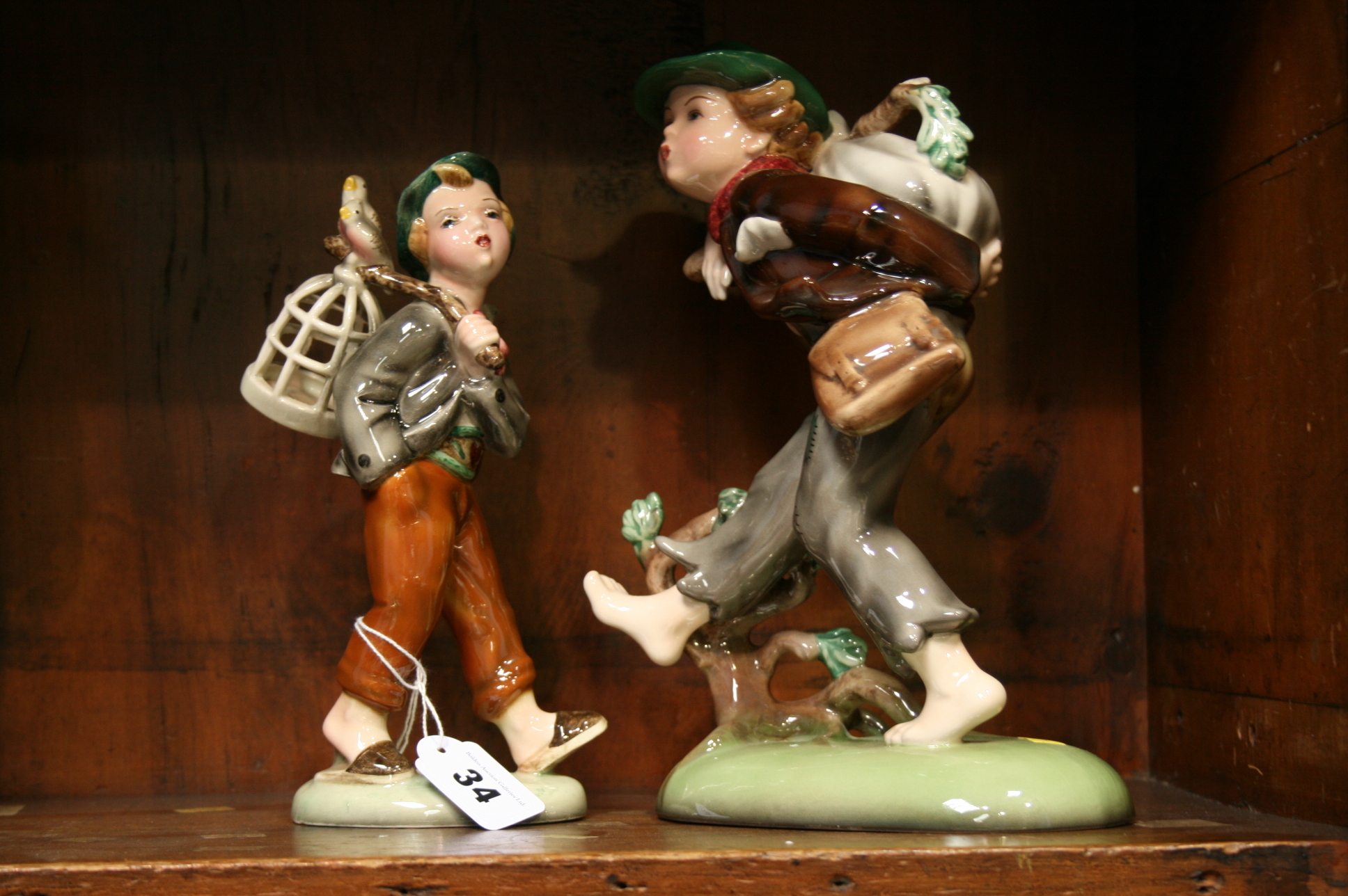 Lot 34 - Two Royal Belvedere figures
