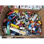 A Quantity of Playworn Diecast Vehicles by Matchbox, mainly 1970's onwards.