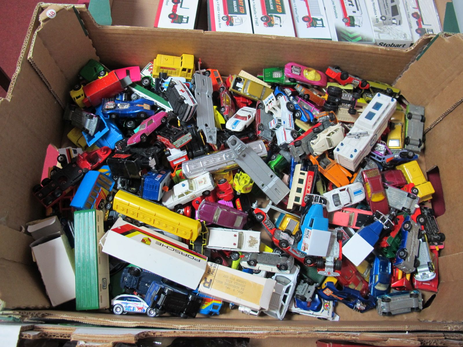 Lot 49 - A Quantity of Playworn Diecast Vehicles by Matchbox, mainly 1970's onwards.