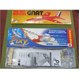 A Boxed Protech #T0380 'Pixy' Electric Powered Indoor and Park Flyer Model Aircraft, comes