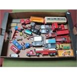 A Quantity of Playworn Original Dinky, Corgi and Matchbox Diecast Vehicles, including James Bond