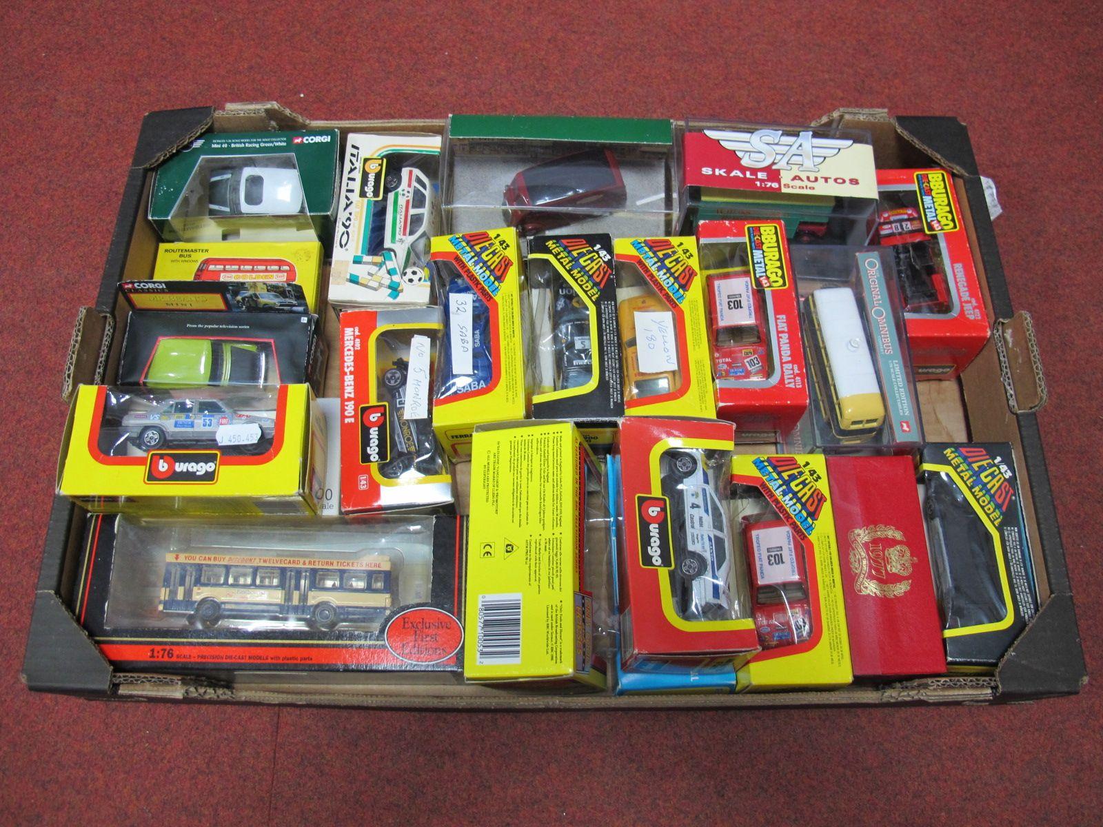 Lot 42 - Twenty-Two Diecast Vehicles by EFE, Burago, Skale Autos, Corgi, Lonestar, including EFE MKI