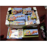 Fourteen Corgi Chipperfields Circus Diecast Vehicles and Circus Figures, including #97888 Foden