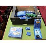 A Collection of Boxed Hornby Dublo Accessories, including #ED3 electrically operated signal, points,