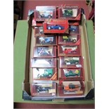 Seventeen Matchbox 'Models of Yesteryear' Diecast Vehicles, including #Y21 1957 BMW 507, #Y-27