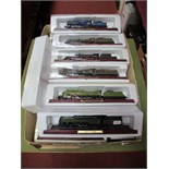 Fifteen Atlas Edition 1:100th Scale Locomotives, including Pacific Chapelon Nord, PLM Pacific,