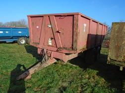 Lot 46 - Triffitt 12t dump trailer 2001