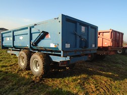 Lot 47 - AS Marston FEN-10 tipping trailer 1995