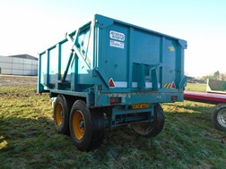 Lot 49 - Armstrong & Holmes 9t hi-lift trailer