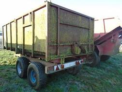 Lot 45 - Foster twin axle trailer