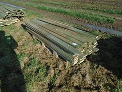 Lot 7 - Pallet of timber