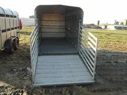 Lot 24 - Ifor Williams 12' livestock trailer