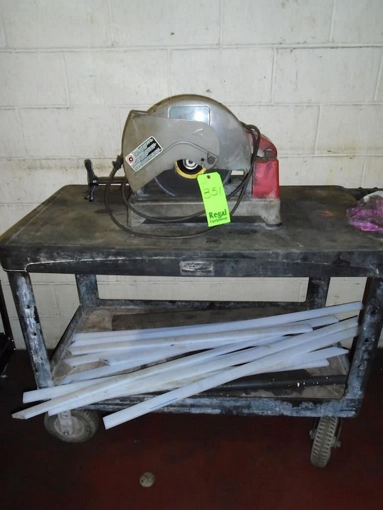 Milwaukee Chop Saw and Content