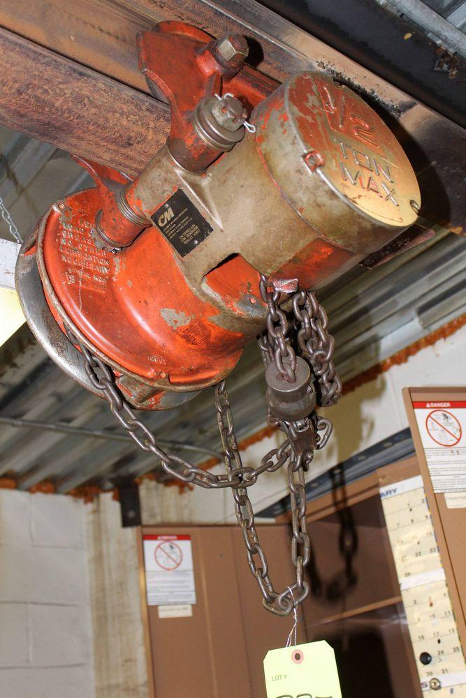 Lot 337RB - CM 1/2 ton Chain Hoist