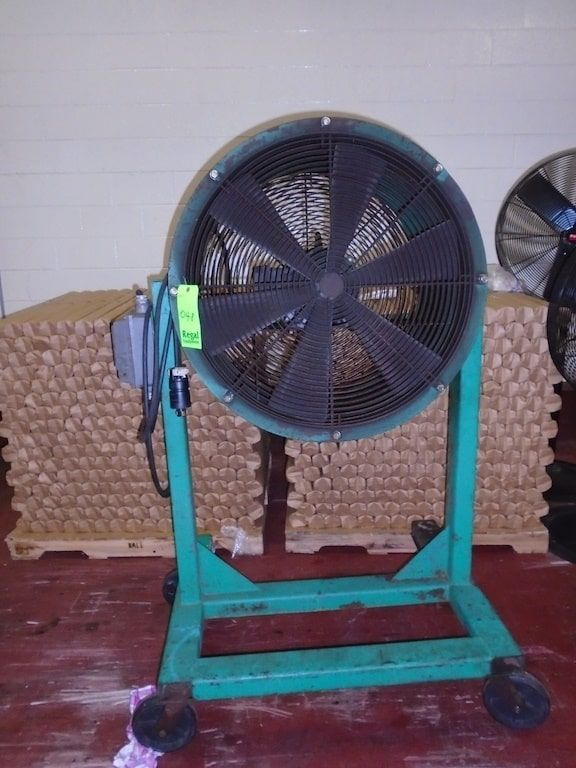 Lot 48RB - Floor Fan with stand
