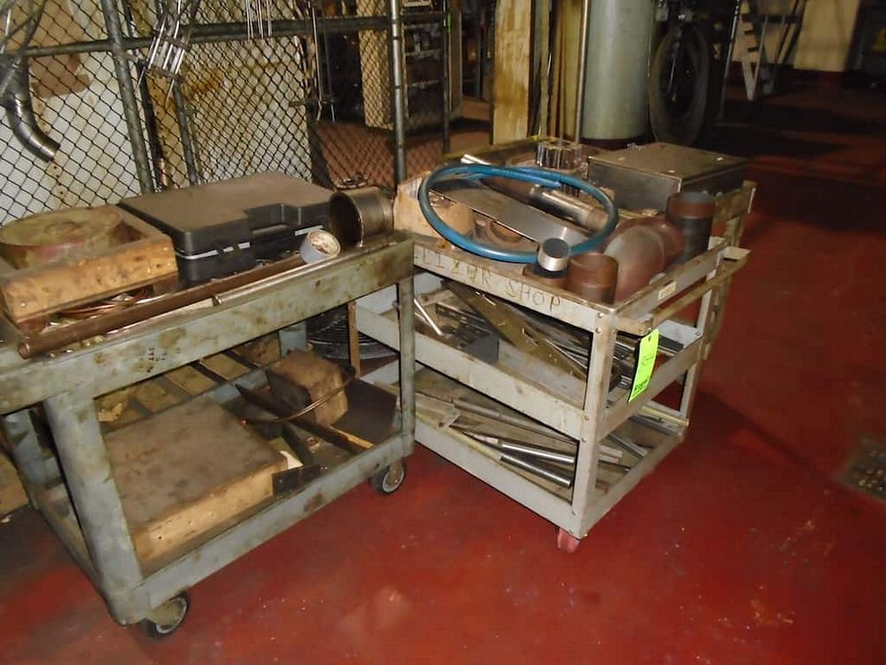 Lot 354RB - 3 Carts and Contents