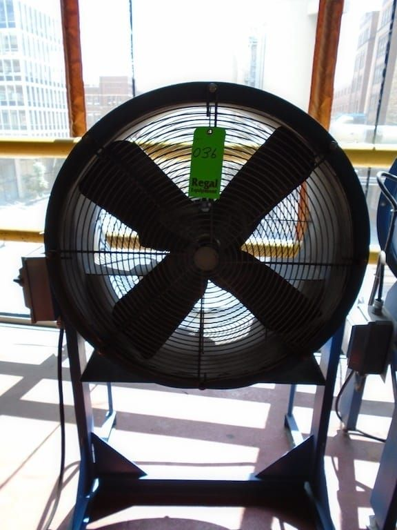 Lot 36RB - Floor Fan with stand