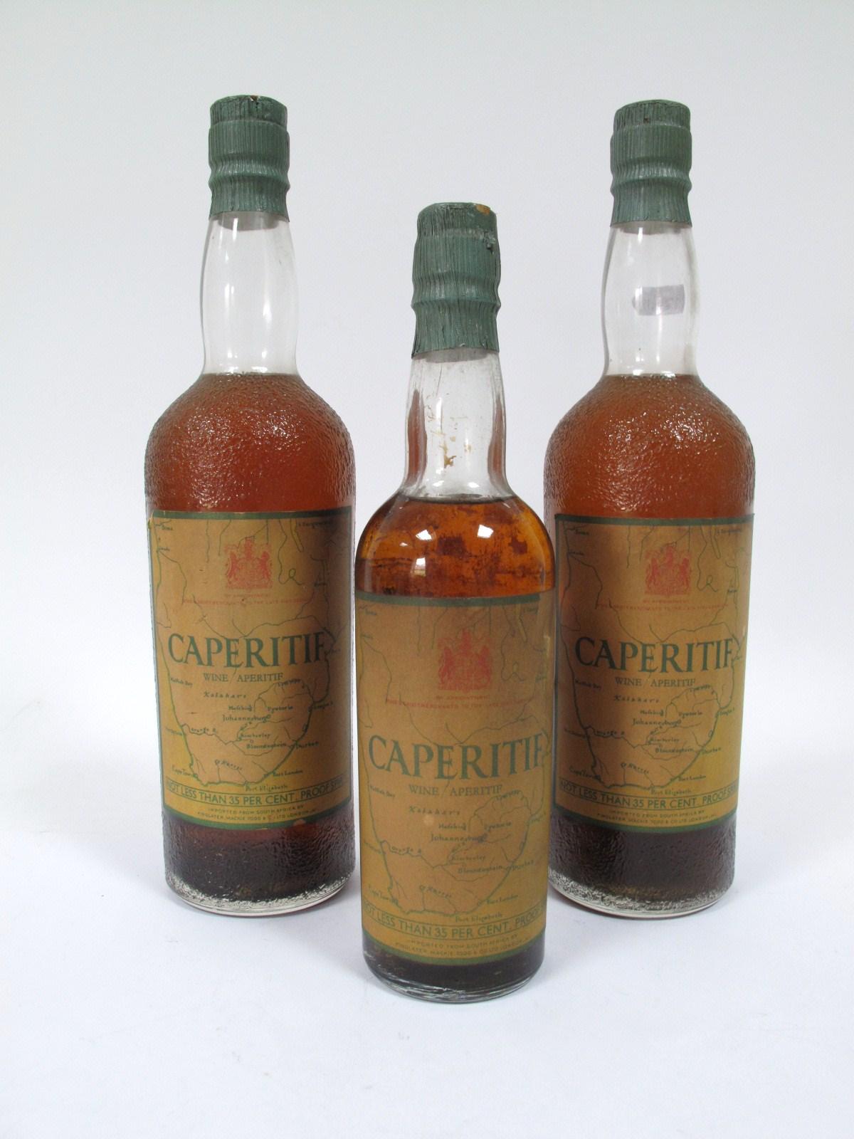 Lot 893 - WINES - Caperitif Wine Aperitif, (2 bottles); Caperitif Wine Aperitif, 35cl. (3)