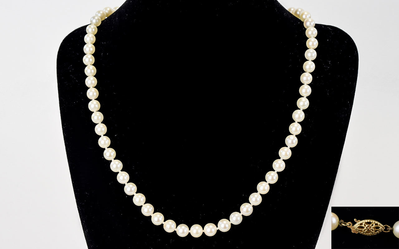 Lot 99 - Well Matched High Quality Single Strand